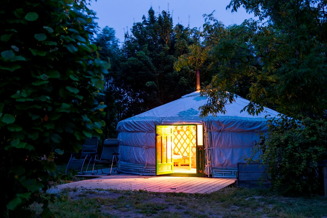Yurts for Yoga