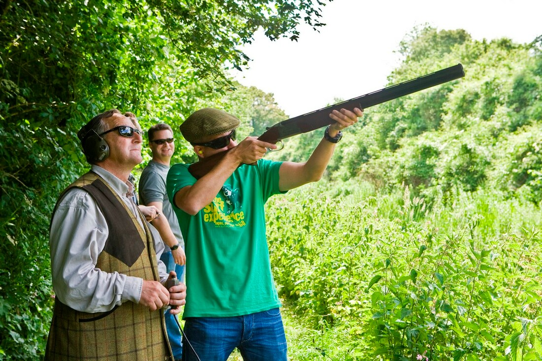 Clay Shooting Layout, Hampshire